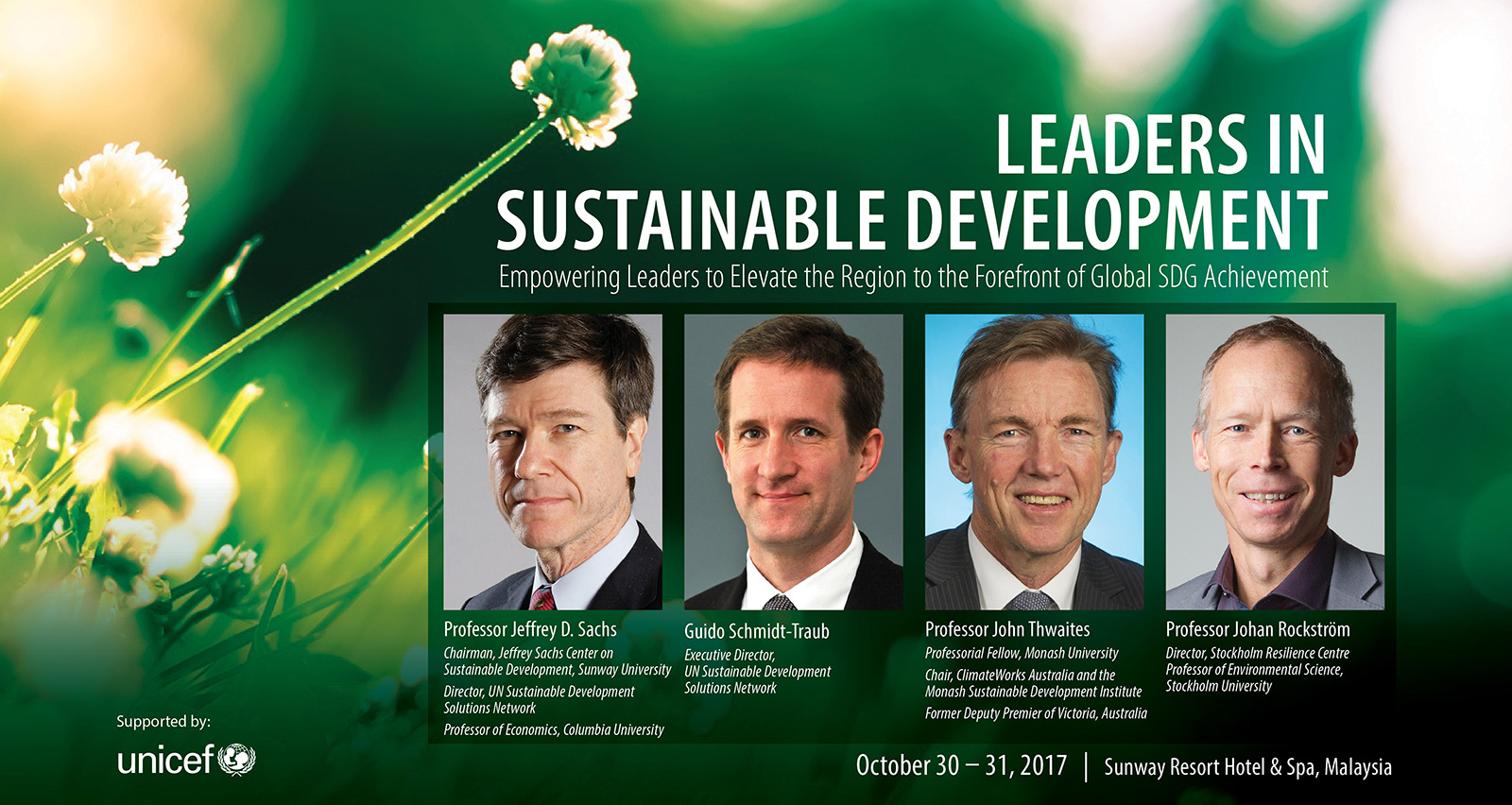 Leaders in Sustainable Development